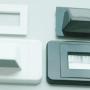 Bullnose/Flush mount wall plate